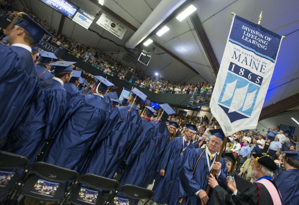 Division of Lifelong Learning at commencement