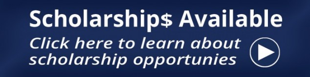 scholarships available - click here to learn about scholarship opportunities