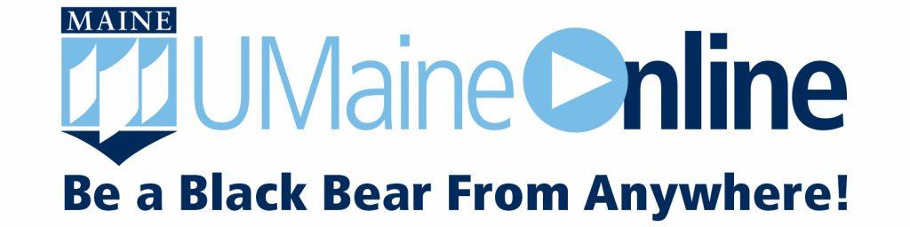 UMaineOnline logo & tagline